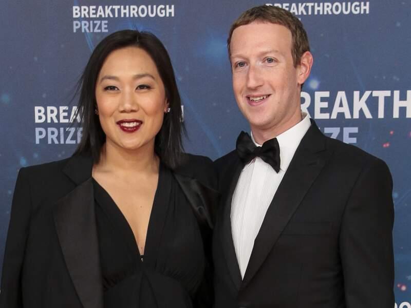 Mark Zuckerberg et Prisicilla Chan, ici à Mountain View le 3 novembre 2019, ont lutté pour fonder une famille
