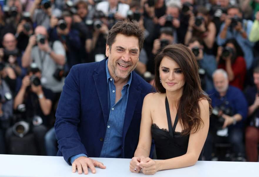 Au cinéma, Penelope Cruz et Javier Bardem, ici au Festival de Cannes le 9 mai 2018, forment un duo puissant