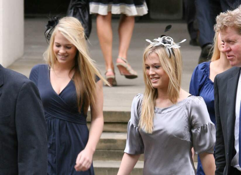 Lady Eliza et Lady Amelia Spencer détonnent dans la famille royale. Les soeurs jumelles ont fait la une du magazine Tatler en janvier 2021.