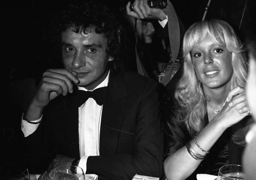 Michel Sardou et son épouse Babette au Gala de l'Unicef en 1980