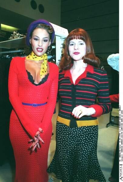 Vanessa Demouy et Lolita Lempika en 1995