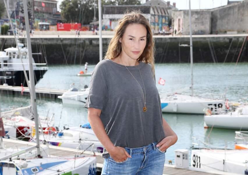 Vanessa Demouy au Festival de la Fiction TV de la Rochelle le 14 septembre 2019