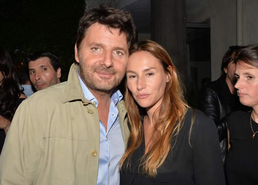 Philippe Lellouche et Vanessa Demouy à l'hôtel de Sers à Paris le 10 septembre 2014