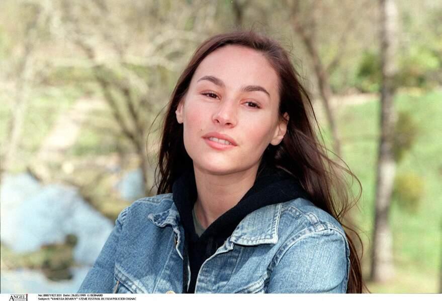 Vanessa Demouy, ci-dessus au 17ème Festival du film policier de Cognac en 1999