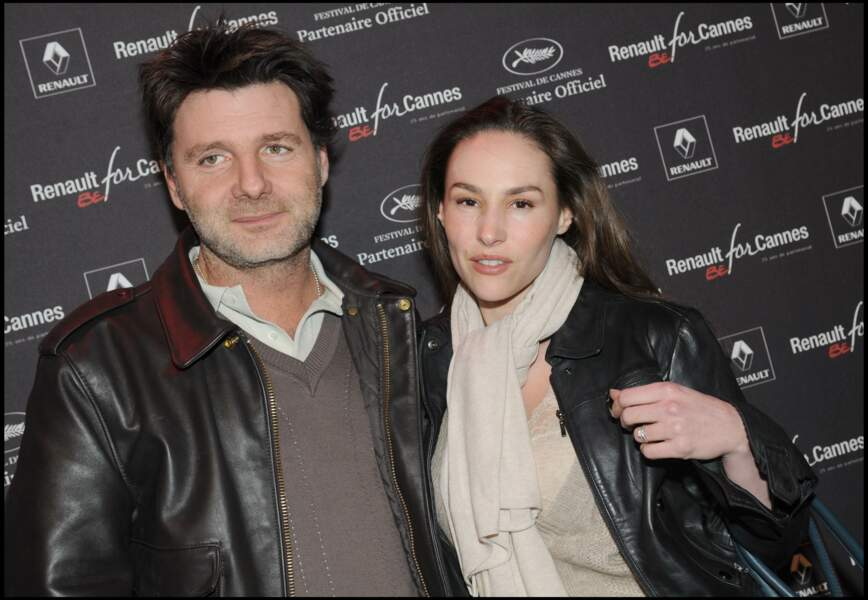Vanessa Demouy et Philippe Lellouche à la soirée Before Cannes en 2008
