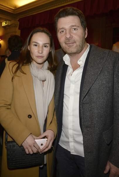 Vanessa Demouy et Philippe Lellouche au théâtre de la Madeleine à Paris, le 8 février 2016