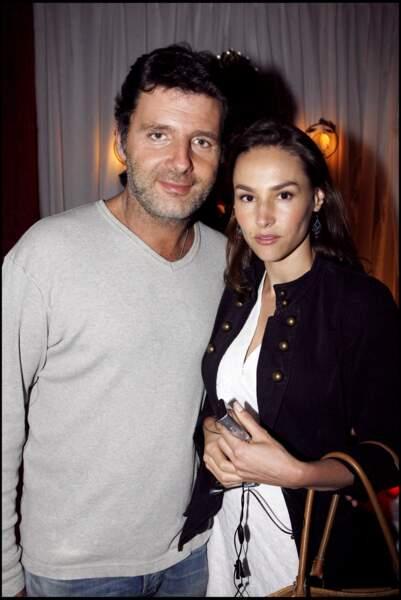 Philippe Lellouche et Vanessa Demouy en 2006 à Saint-Tropez