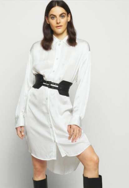 Ceinture corset taille haute - Karl Lagerfeld, 80€