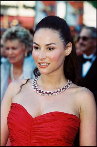 Vanessa Demouy, ici au Festival de Cannes en 2000