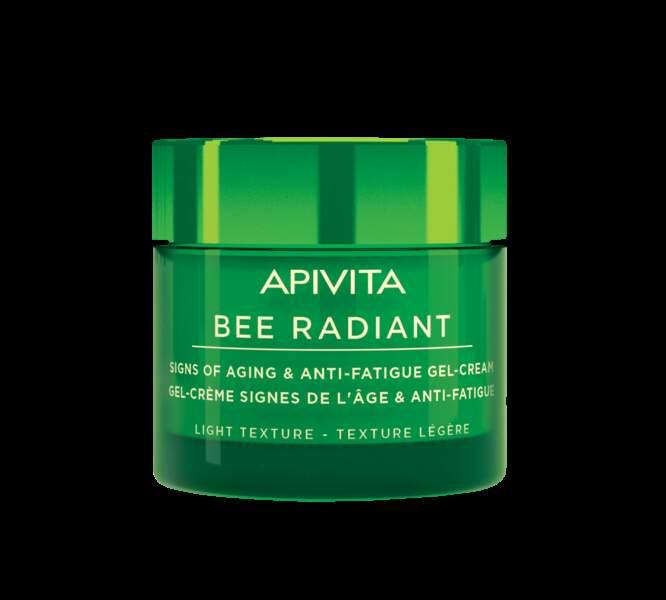 Gel-Crème signes de l'âge et anti-fatigue, Bee Radiant, Apivita, 30,90€