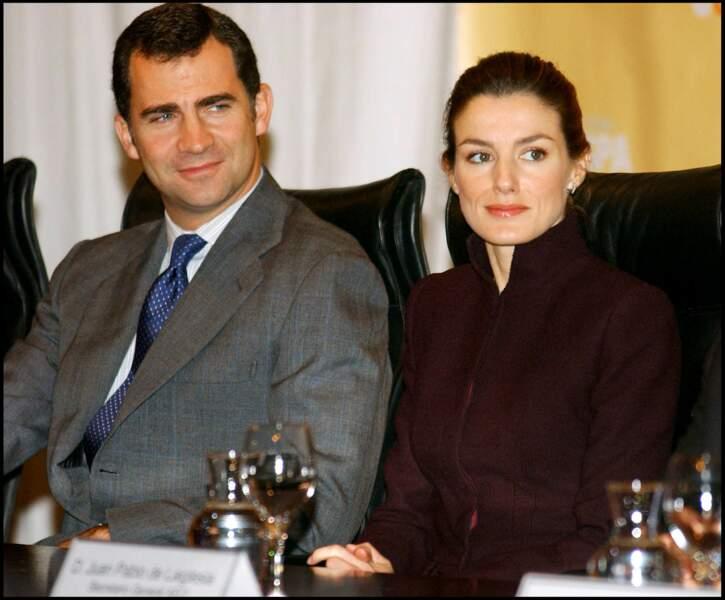 Le prince Felipe d'Espagne et la princesse Letizia président la fondation Empresa Solidaria