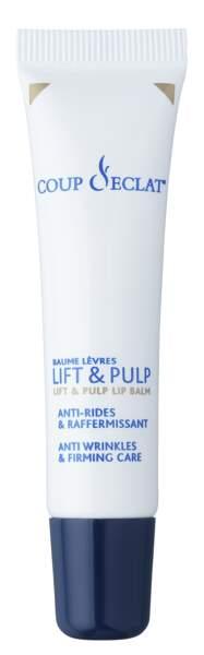 Baume à Lèvres Lift & Pulp, Coup d'éclat, 13€