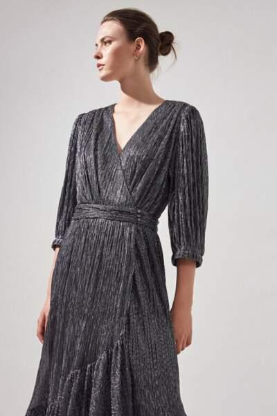 Robe longue lamée - Suncoo, 87€