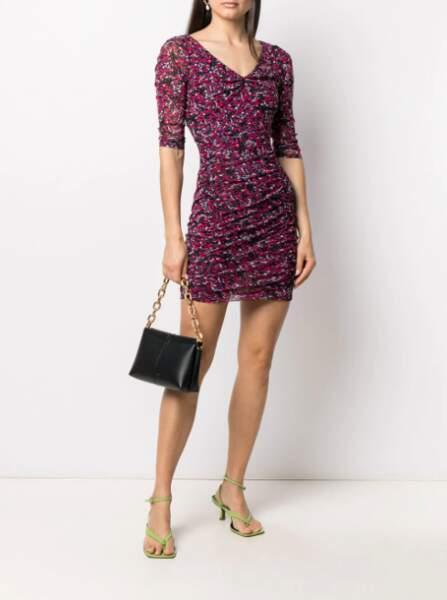 Robe courte imprimée - Diane Von Furstenberg, 306€