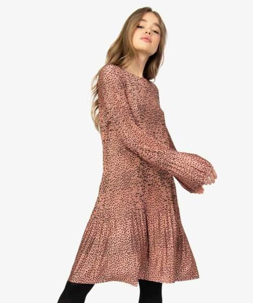 Robe plissée à motifs - Gemo, 20€