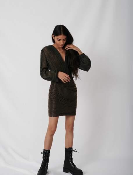 Robe en lurex - Maje, 165€