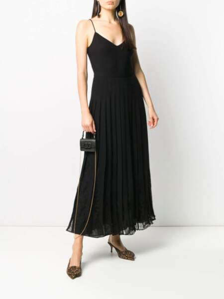 Robe longue plissée - Valentino, 5500€