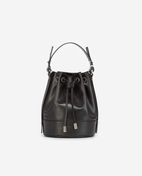 Tina Bag en cuir noir, à partir de 235 €, Tina For Vincent pour The Kooples