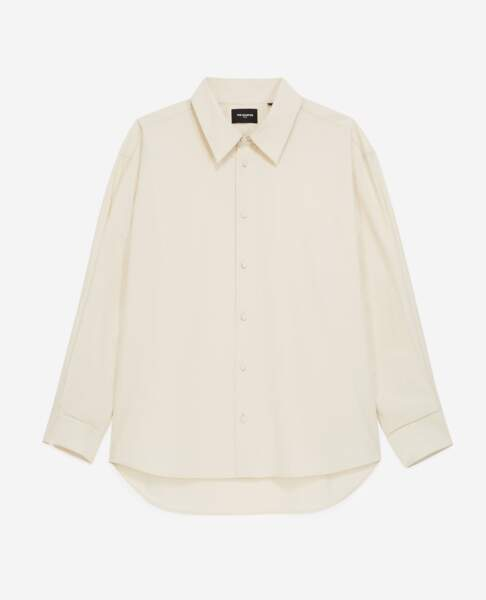 Blouse ample, 195 €, Tina For Vincent pour The Kooples