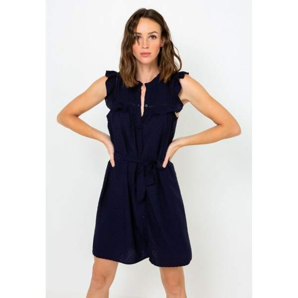 Robe ceinturée - Camaïeu, 18€