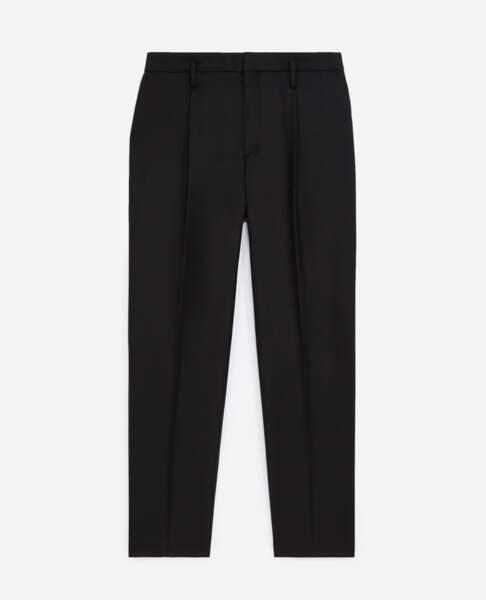Pantalon de costume noir, 225 €, Tina For Vincent pour The Kooples
