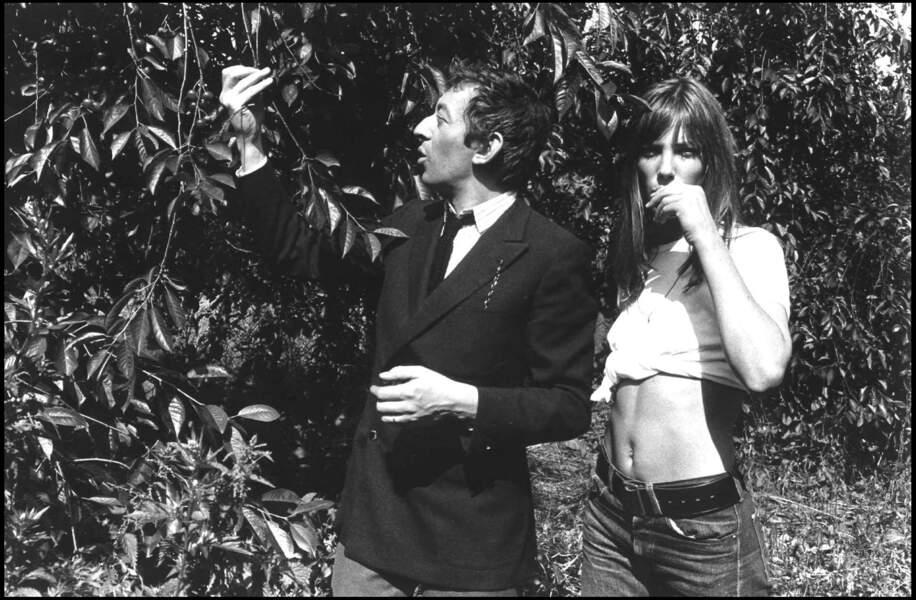 Serge Gainsbourg et Jane Birkin forme un couple très médiatique.