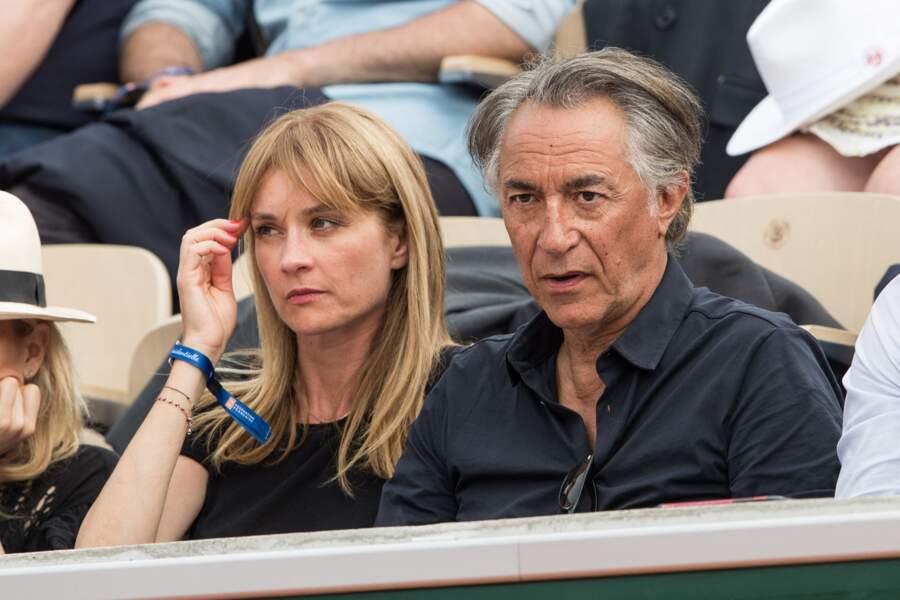 Richard Berry et sa femme Pascale Louange le 4 juin 2019.
