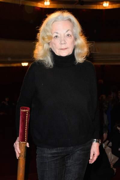 Catherine Hiegel lors de la cérémonie de remise du prix du Brigadier au Théâtre Montparnasse à Paris le 17 février 2017