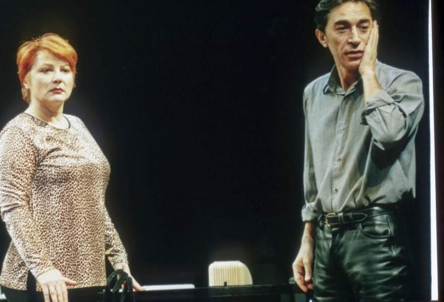 Richard Berry et Josiane Balasko en 1996