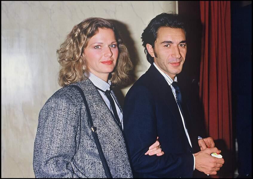 Richard Berry et Jeane Manson