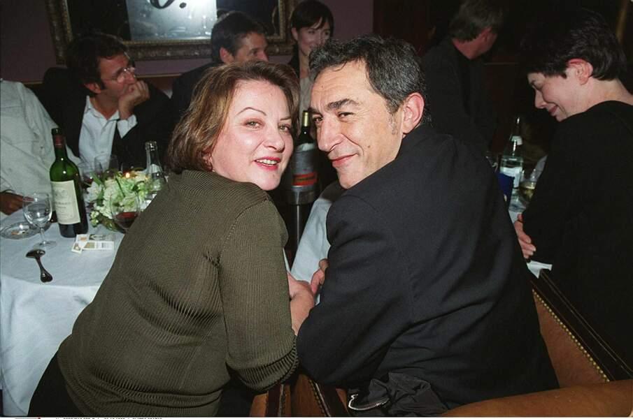 Richard Berry et son ancienne belle-soeur en 1999