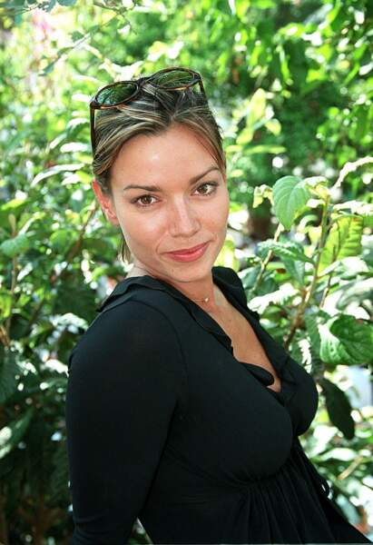 Ingrid Chauvin, au festival de Fiction TV de Saint-Tropez, le 24 septembre 2001.