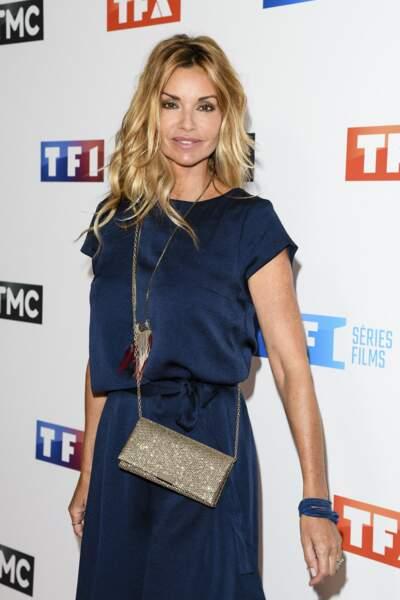 Ingrid Chauvin, lors de la soirée de rentrée de TF1, au Palais de Tokyo à Paris, le 9 septembre 2019.