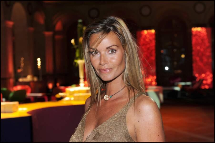 Ingrid Chauvin au cocktail de rentrée de TF1 au Palais de Brongniart, à Paris, le 13 septembre 2010.