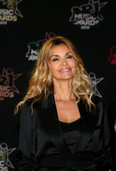 Ingrid Chauvin, à la 21ème édition des NRJ Music Awards au Palais des festivals à Cannes le 9 novembre 2019.