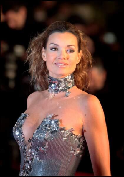 Ingrid Chauvin à la soirée des NRJ Music Awards, à Cannes, le 23 janvier 2010.