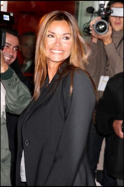 Ingrid Chauvin, à l'inauguration de l'espace C 42, sur les Champs-Elysées à Paris, le 27 septembre 2007.