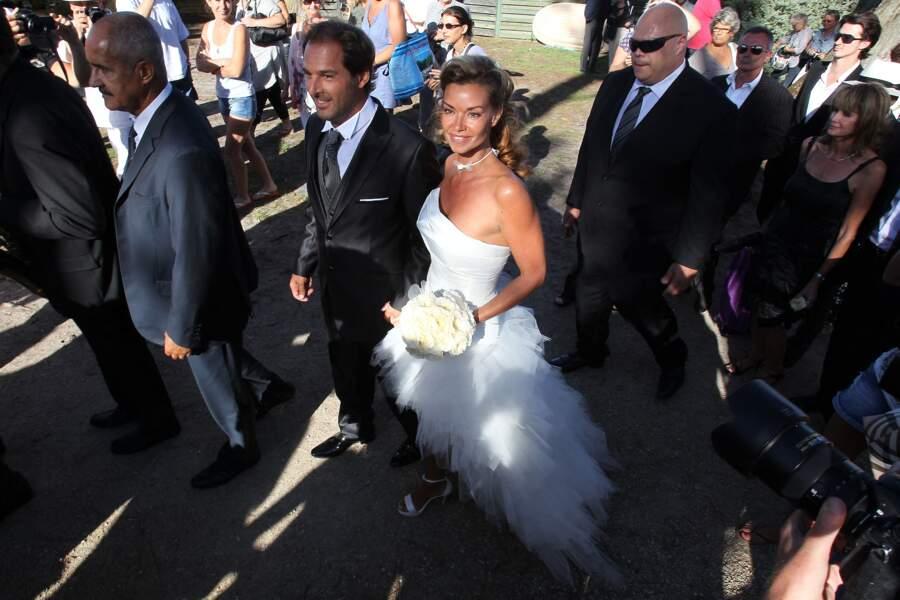 Le 27 août 2011, Ingrid Chauvin s'unit à Thierry Peythieu, à Lege Cap-Ferret.