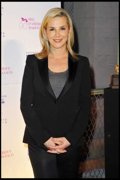 Laurence Ferrari lors d'un Gala en soutien à l'association Laurette Fugain, le 29 janvier 2011