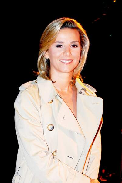 Laurence Ferrari lors de la conférence de presse TF1 de la rentrée 2009-2010 à Paris, le 16 septembre 2009