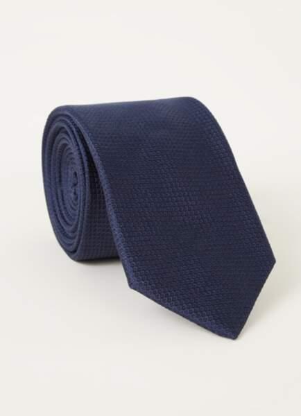 Cravate en soie, 49,90€, Tommy Hilfiger sur debijenkorf.fr