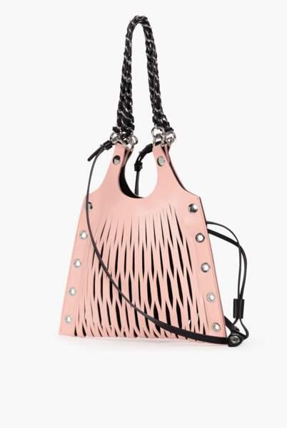 Le sac en cuir, 490€, Sonia Rykiel
