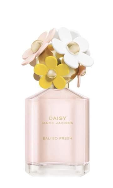 Parfum « Daisy - Eau so Fresh »; 87€, Marc Jacobs sur debijenkorf
