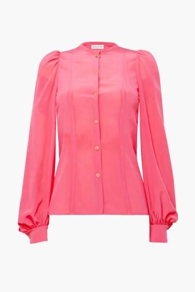 La chemise en soie, 350€, Sonia Rykiel