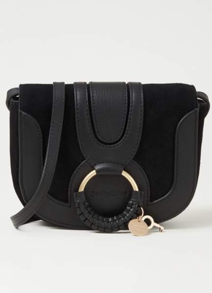 Mini sac à bandoulière en cuir de chèvre, 295€ , See by Chloé sur debijenkorf.fr