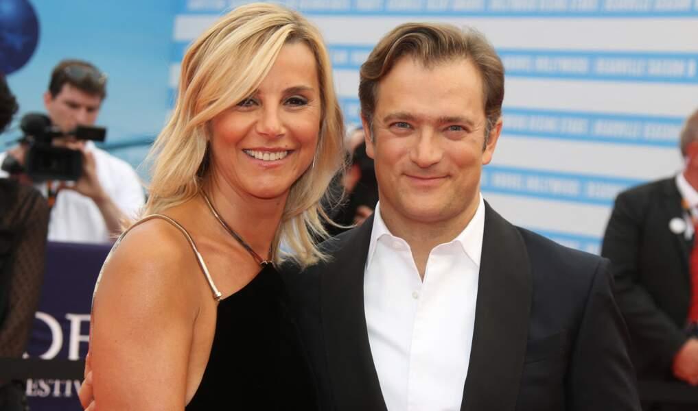 Laurence Ferrari et son mari Renaud Capuçon - Arrivées à la cérémonie de clôture du 44ème Festival du Film Américain de Deauville. Le 8 septembre 2018