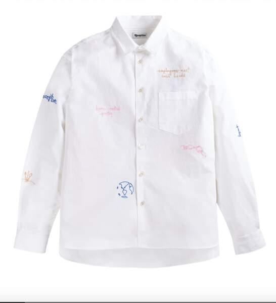 Chemise coton, 250€, Reception