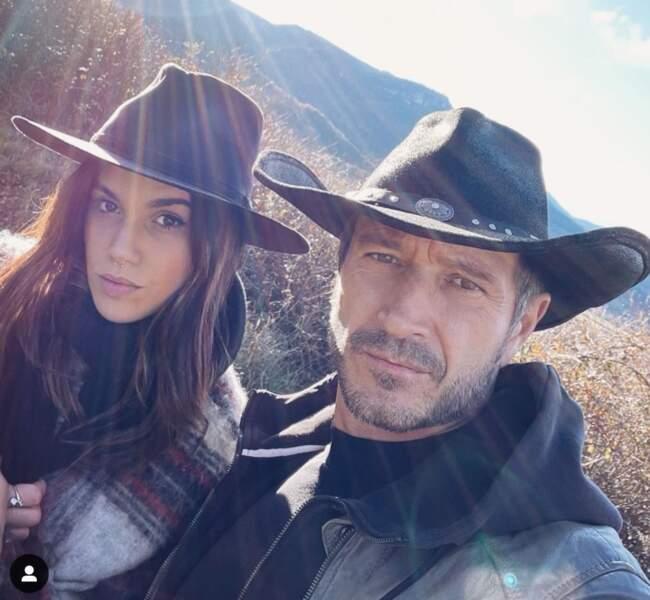 Naima Rodric et Alexandre Varga sur Instagram en décembre 2020.