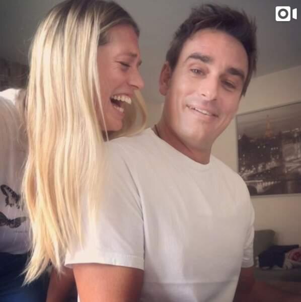Aurore Delplace et Kevin Levy s'éclatent sur Instagram en septembre 2019.
