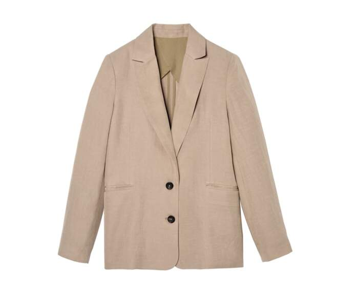 Veste beige « Luciole 2 », 119,99€, Collection Go For Good par Galeries Lafayette